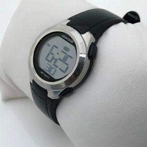 Armitron Ladies Watch Sport Digital Black Silver T
